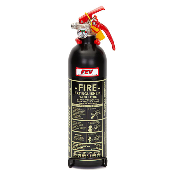 FEV 0.9L Foam F-TEC900HH FIA Handheld Race Car Fire Extinguisher