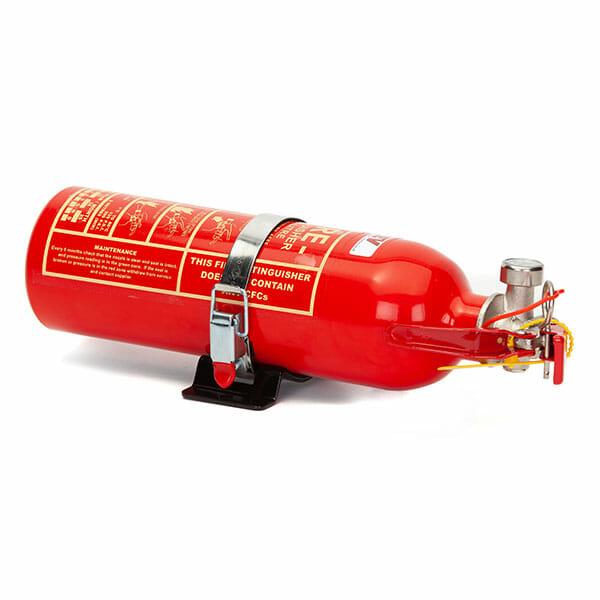 FEV 0.9L Foam F-TEC900HH FIA Handheld Race Car Fire Extinguisher - Red Gloss