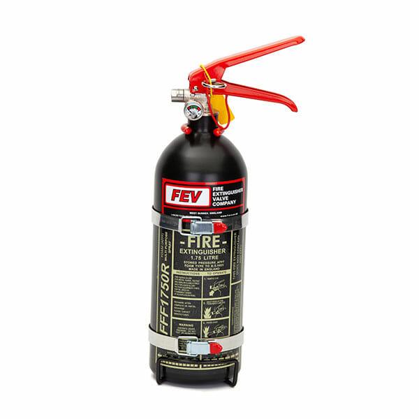 FEV f-TEC175HH Foam Handheld Race Car Fire Extinguisher in Black