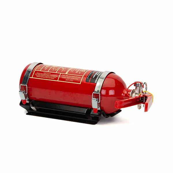 FEV 1.75L Foam F-TEC175HH FIA Handheld Race Car Fire Extinguisher in Gloss Red