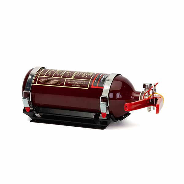 FEV 1.75L Foam F-TEC175HH FIA Handheld Race Car Fire Extinguisher in Dark Red