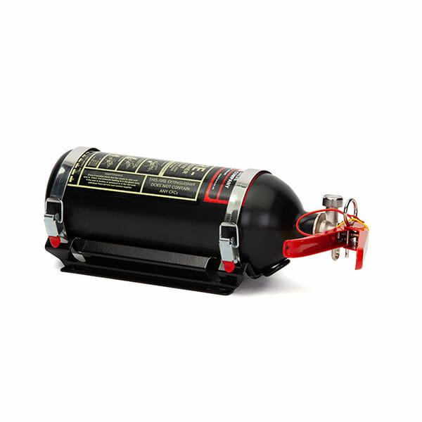 FEV 1.75L Foam F-TEC175HH FIA Handheld Race Car Fire Extinguisher in Black