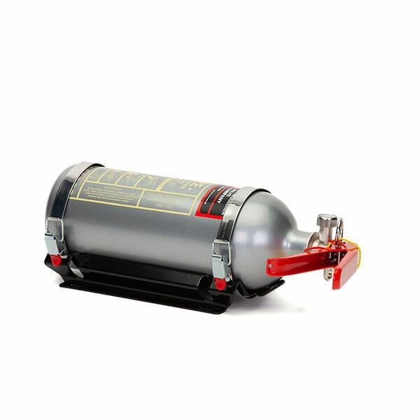 FEV 1.75L Foam F-TEC175HH FIA Handheld Race Car Fire Extinguisher in Silver