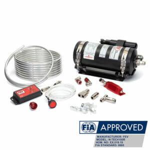 FEV N-TEC4100R Gas FIA MSUK Fire Suppression System Kit