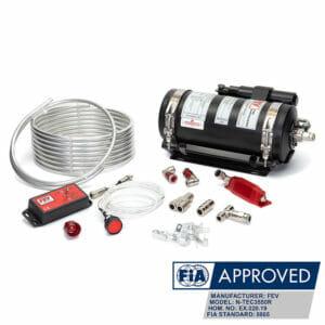 FEV N-TEC3550R Gas FIA MSUK Fire Suppression System Kit